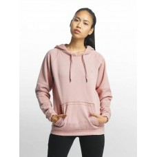 Cyprime Women Hoodie Cuprum in rose pink 80% cotton 20% polyester CYLHD004ROS JYBBQUU