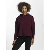 JACQUELINE de YONG Women Hoodie jdyLola in purple ribbed cuffs on the hood arm and hip closure prevent annoying slipping 15138577POTPUR HRZZHLC