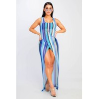 Women Nothing Left Maxi Dress A gorgeous dress perfect to wear to the beach or over a swimsuit. Scoop neck WZECEPG