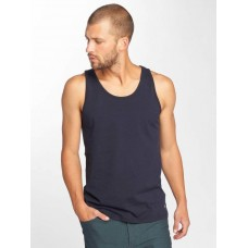 Carhartt WIP Men Tank Tops Base in blue classic round neck I0246591C90 WKAIWNK