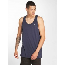 G-Star Men Tank Tops Belfurr NY Jersey Loose R in blue ribbed crew neck D1058327576370 PHLZPXC