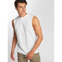 Only & Sons Only & Sons Men Tank Tops onsCasper in white finely ribbed crew neck 22010528WHT YCFABKU