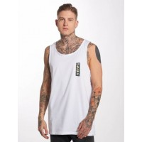 Quiksilver Men Tank Tops Framers Up in white wide crew neck EQYZT04852WBB0 DTCWDQM