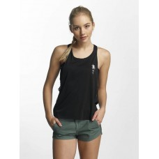 Hurley Women Tank Tops Quick Dry Mesh in black Black 100% polyester wide-cut sleeve seams 941324010 JSWJKSP