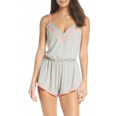 Women Amore Romper Comfortable and elegant Heather Gray/ Mauvelous EJOUVTZ