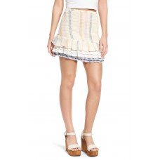 Women Drea Miniskirt Comfortable and elegant more temperament Calamar Stripe EHFVXUA