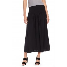 Women 'Feel Good' Maxi Skirt Comfortable and elegant more temperament Black Onyx ARBAFPX