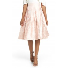 Women Jacquard A-Line Skirt Comfortable and elegant more temperament Blush FIZWXEQ