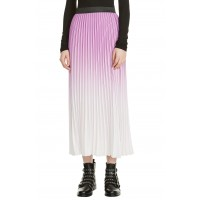 Women Jonael Pleated Midi Skirt Comfortable and elegant more temperament Purple MRXNNWZ