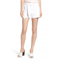 Women Yelinda Shorts Comfortable and elegant more temperament White PKDCCYI