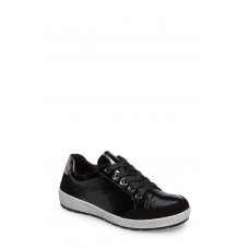 ARA Women Nicole Sneaker Black Leather XUEJNTO