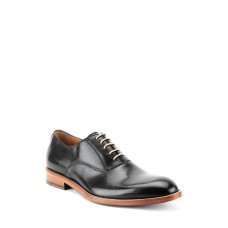 Men Oliver Plain Toe Oxford LComfortable feet make you a gentleman Black Leather HYQYEFY