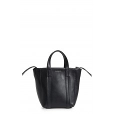 Women Extra Small Laundry Cabas Calfskin Tote Comfortable and elegant Noir YKSLPNW