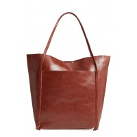 Women Harley Faux Leather Tote Comfortable and elegant Whiskey ADLDUSC