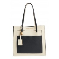 Women The Grind Color Block Leather Tote Comfortable and elegant Baby Blue Multi KKGZACO