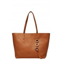 Women Wild Fire Vegan Leather Tote Comfortable and elegant Nude JRQMBPA