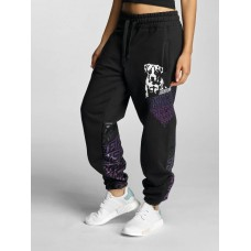 Babystaff Women Sweat Pant Lyas in black Drawstring outside of the elastic waistband for good grip AMS0771BP KGERMDB