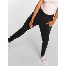 Better Bodies Women Sweat Pant Jogger in black Drawcord on the outside of the elastic waistband provides a firm hold BB110792999 ZLEWEBJ