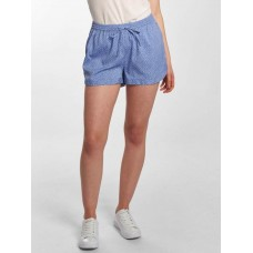 Blend She Women Short Mally R in blue blue / white 100% polyester elastic waistband with integrated drawstring ensures optimal hold 2020226720233 CRAXIMV