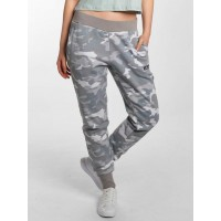 Ellesse Women Sweat Pant Sanatra in camouflage camouflage / gray 80% cotton 20% polyester Drawcord on the outside of the elastic waistband ensures excellent grip SGW03132GRYCAM FTTVZKC