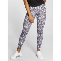 Urban Classics Women Legging/Tregging Active Graphic in grey wide elastic waistband ensures a secure fit TB2038GRY CEFDYIE