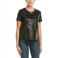 Women Do+Be Studded Top Approximately 21in from shoulder to hem Black 469380501 FMIPXFD