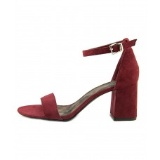 Women 1.4.3. Girl Womens Newsie Fabric Open Toe Casual Ankle Strap Sandals Sexy and elegant Red Style # 484469002 LXQUQBI
