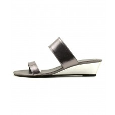 Women Athena Alexander Womens Spendit Open Toe Casual Slide Sandals Sexy and elegant Silver Style # 460695701 ACALFRW