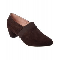Women Taryn Rose Finer Suede Pump Sexy and elegant Brown Style # 465635801 QZGHXRY