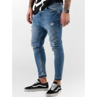 VSCT Clubwear Men Skinny Jeans Keanu Vintage Kneetcut `84 in blue Closure: concealed button placket 5642335MBLUSTO GEACLXG