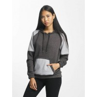 Cyprime Women Hoodie Tungsten in grey dark gray / gray 50% cotton 50% polyester Hood with drawcord CYLHD005ANTGM DIJHWUX