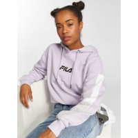 FILA Women Hoodie Urban Line Riva in purple Hood with adjustable drawstring for a personalized fit 682307J30 PGVQUBK