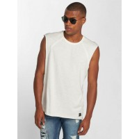 Only & Sons Only & Sons Men Tank Tops onsSlam in white finely ribbed crew neck 22009222CLODAN IKJZVTR