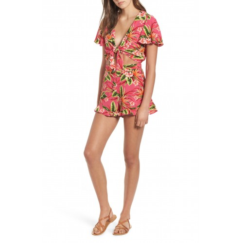 Women Riviera Romper Comfortable and elegant Truly Tropical Pebble QFGMYWN