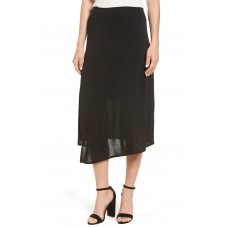 Women Nic + Zoe Every Occasion Faux Wrap Skirt Comfortable and elegant more temperament Black Onyx LICWXBW